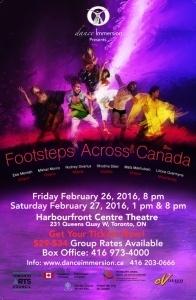 Footsteps Presentation: dance Immersion