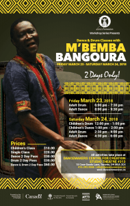 M'bemba Bangoura: dance Immersion
