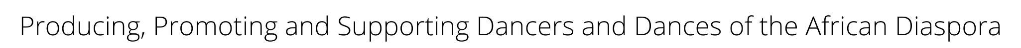 dance Immersion Tag Line